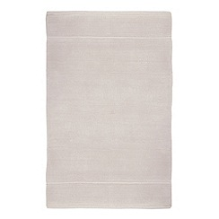 J by Jasper Conran - Silver cotton bath mat