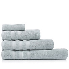 J by Jasper Conran - Light blue 'Hotel' luxury Turkish cotton towels