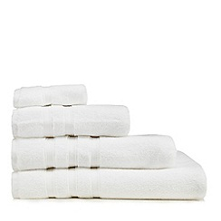 J by Jasper Conran - White 'Hotel' luxury Turkish cotton towels