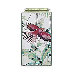 Butterfly Home by Matthew Williamson - Silver mirrored tooth brush holder
