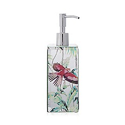 Butterfly Home by Matthew Williamson - Silver mirrored soap dispenser