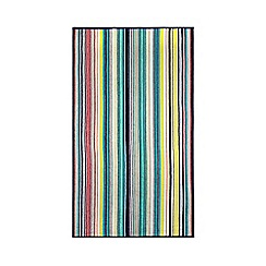Ben de Lisi Home - Navy striped towel