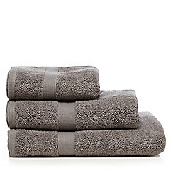 J by Jasper Conran - Grey zero twist towel