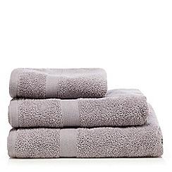 J by Jasper Conran - Mauve zero twist towel