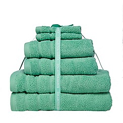 Home Collection Basics - Aqua towel bale