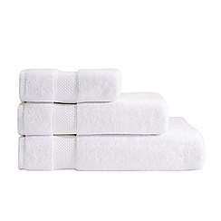 Christy - White Hygro cotton towel