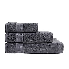 Christy - Dark grey Hygro cotton towel