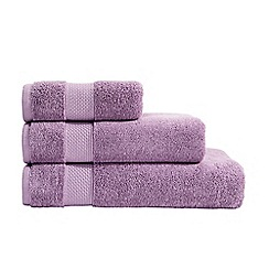 Christy - Mauve Hygro cotton towel