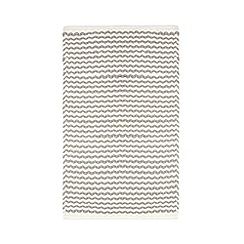 Home Collection - Grey woven striped bath mat