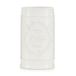 Home Collection - White Paris motif toothbrush holder