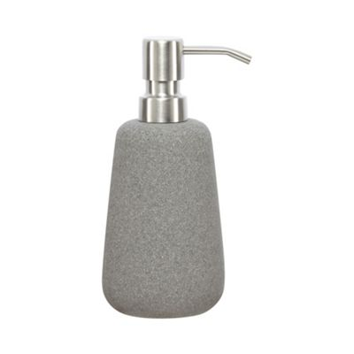 Rjr john rocha grey stone soap dispenser debenhams for Ceramic bathroom bin