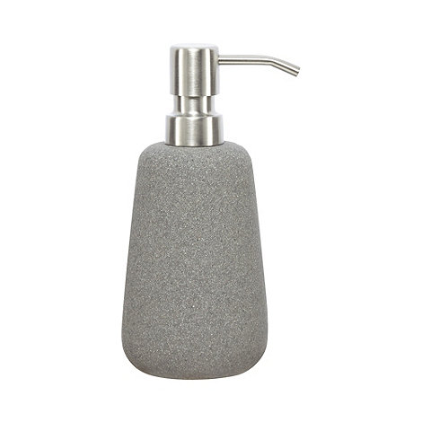 rjrjohn rocha grey stone soap dispenser