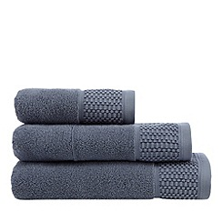 J by Jasper Conran - Hotel dark blue Kensington towel