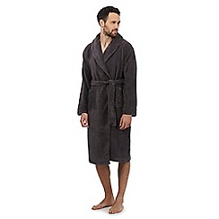 J by Jasper Conran - Dark grey unisex dressing gown