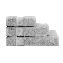 Christy - Silver Hygro cotton towel