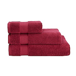 Christy - Dark pink Hygro cotton towel