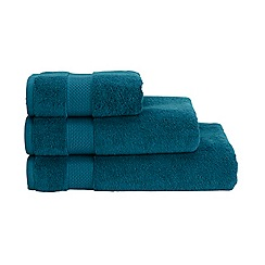 Christy - Bright blue Hygro cotton towel