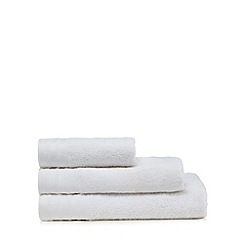 J by Jasper Conran - White zero twist towel