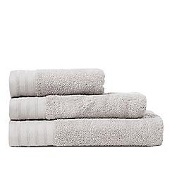 J by Jasper Conran - Silver zero twist towel