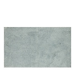 Star by Julien Macdonald - Light green glitter bath mat