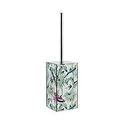 Butterfly Home by Matthew Williamson - Eden print toilet brush holder