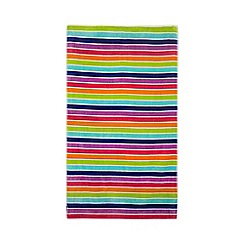 Home Collection - Multi-colour stripe beach towel