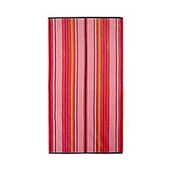 Home Collection - Pink stripe beach towel