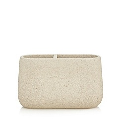RJR.John Rocha - Natural stone double tooth brush holder