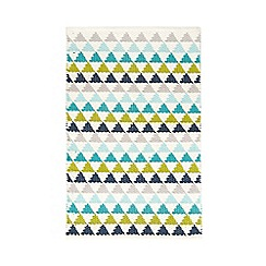 Ben de Lisi Home - Multi-coloured triangle bath mat