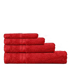 Home Collection - Dark red Hygro Egyptian cotton towels