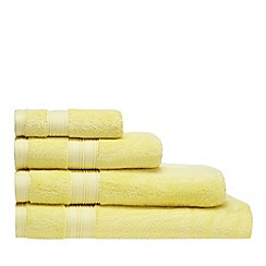 Home Collection - Yellow Egyptian cotton towel