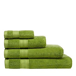 Home Collection - Green Egyptian cotton towel