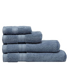 Home Collection - Denim Blue Hygro Egyptian cotton towel