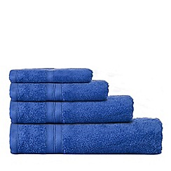 Home Collection - Royal blue Hygro Egyptian cotton towels