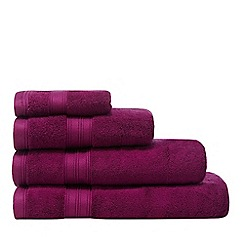 Home Collection - Magenta Hygro Egyptian cotton towel