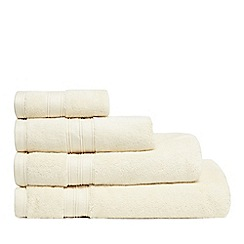 Home Collection - Cream Hygro Egyptian cotton towels