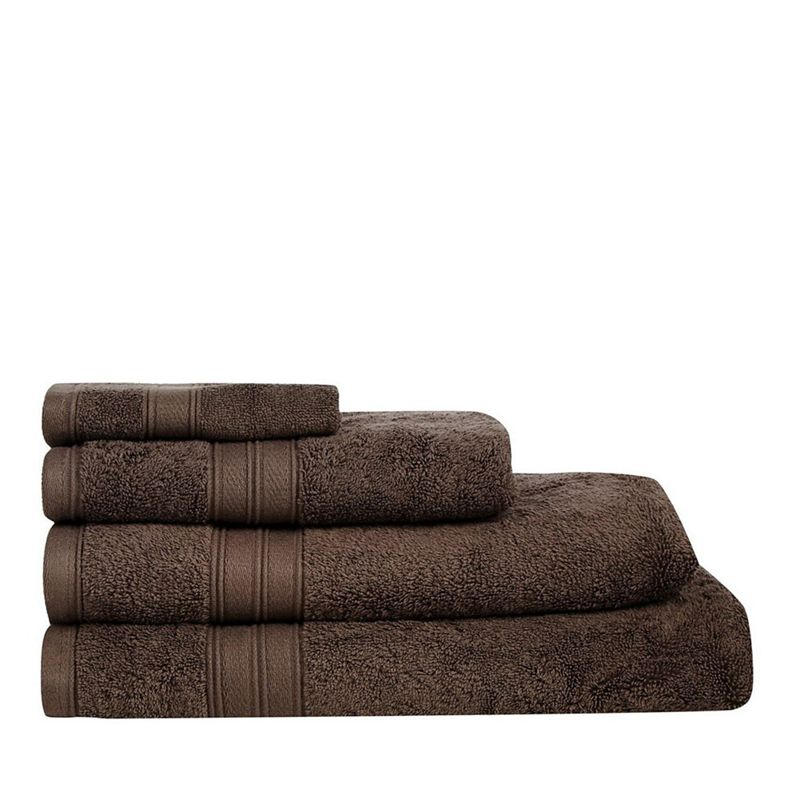 Home Collection Chocolate brown Hygro Egyptian cotton towels