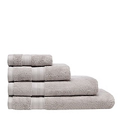 Home Collection - Silver Hygro Egyptian cotton towel