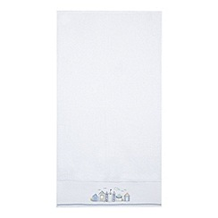 Home Collection - White beach huts towel