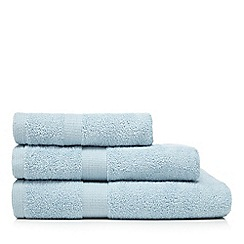 J by Jasper Conran - Light blue towel