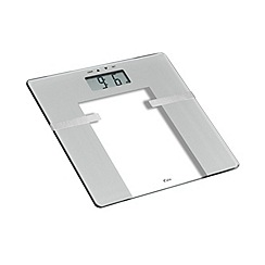 Weight Watchers - Silver ultra slim glass body analyser scale 8935MU