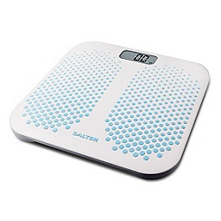 Salter White electronic anti slip scale 9096 BL3R