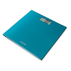 Salter - Teal electronic glass scale 9069 TL3R