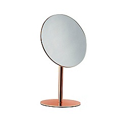 J by Jasper Conran - Copper pedestal mirror