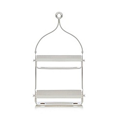 Umbra - White flex shower caddy