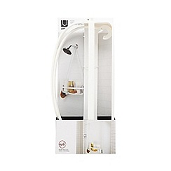 Umbra - White flex single shelf caddy