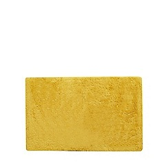 J by Jasper Conran - Dark yellow extra large reversible bath mat