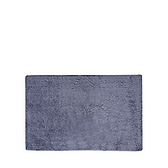 J by Jasper Conran - Dark blue extra large reversible bath mat