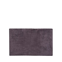 J by Jasper Conran - Dark grey extra large reversible bath mat