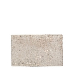 J by Jasper Conran - Beige extra large reversible bath mat